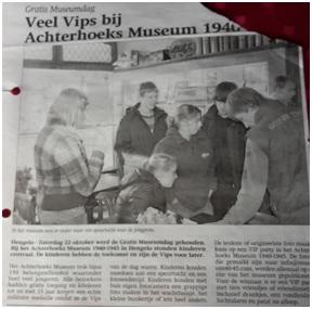 Veel vips bij Achterhoeks museum
